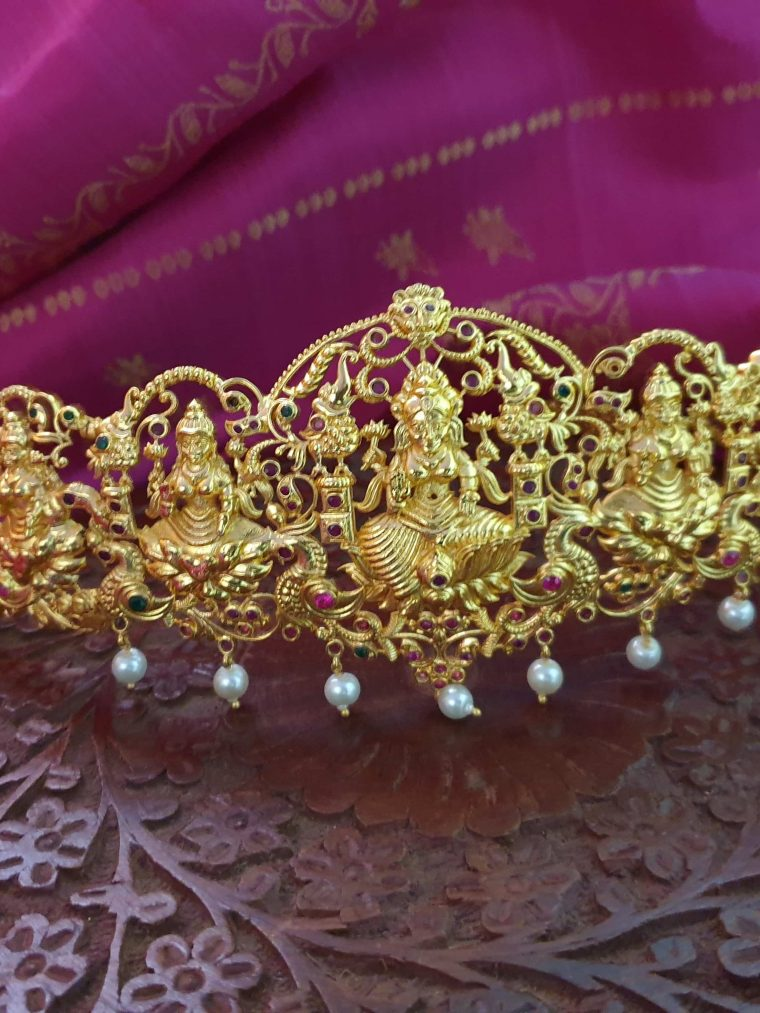 Traditional Imitation Lakshmi Hip Belt