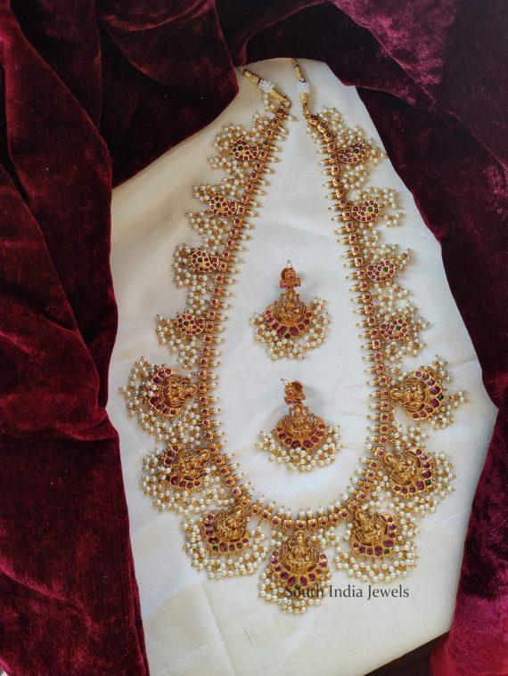 Traditional Lakshmi Guttapusalu Haram