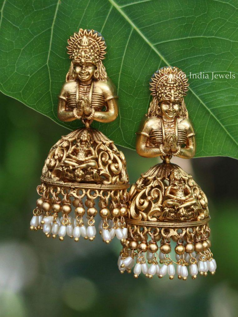Traditional Siva Shakti Jhumkas