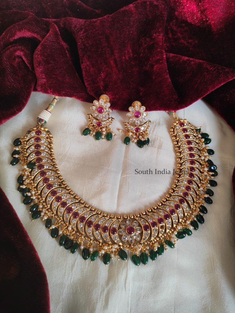 Trendy AD Stone Imitation Necklace
