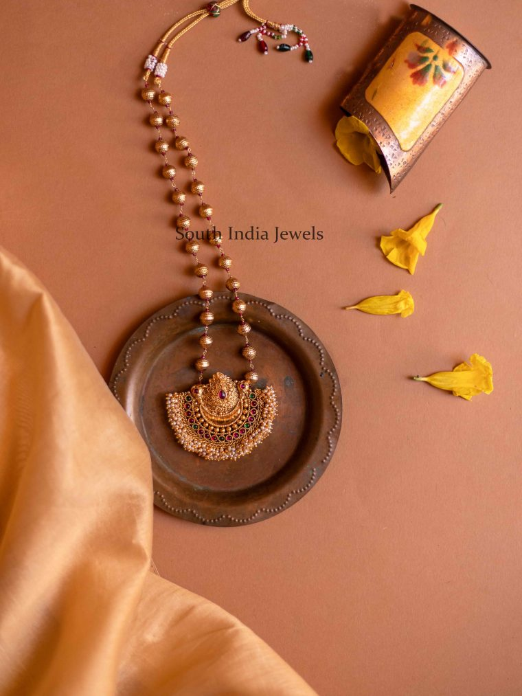 Trendy Ball Chain with Handcrafted Pendant Haram