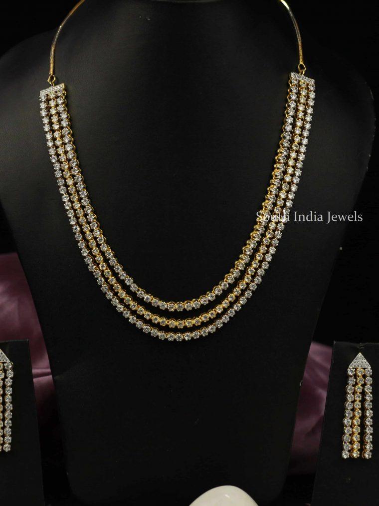 Trendy Imitation Triplet Necklace