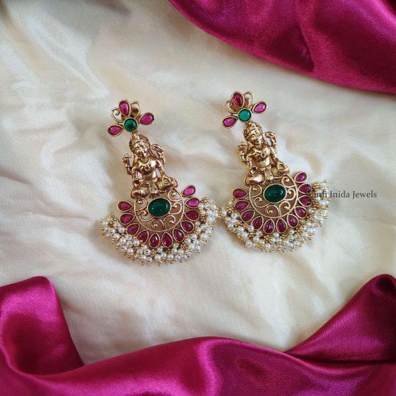 Trendy Lakshmi Design Earrings