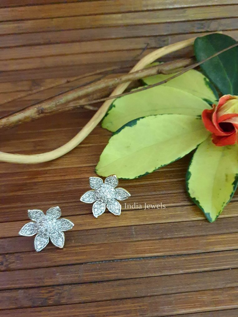 Amazing Flower Design Studs