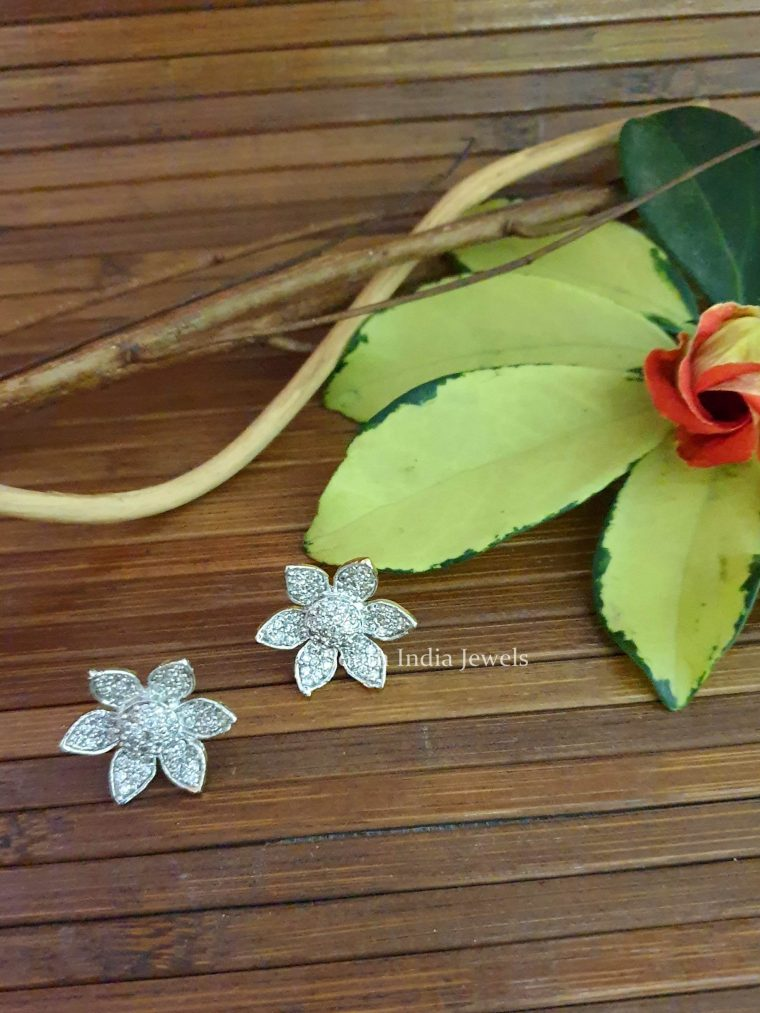Amazing Flower Design Studs