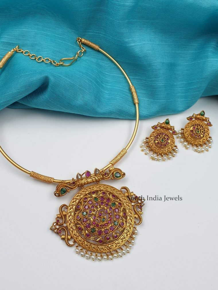 Amazing Rope Design Necklace (2)