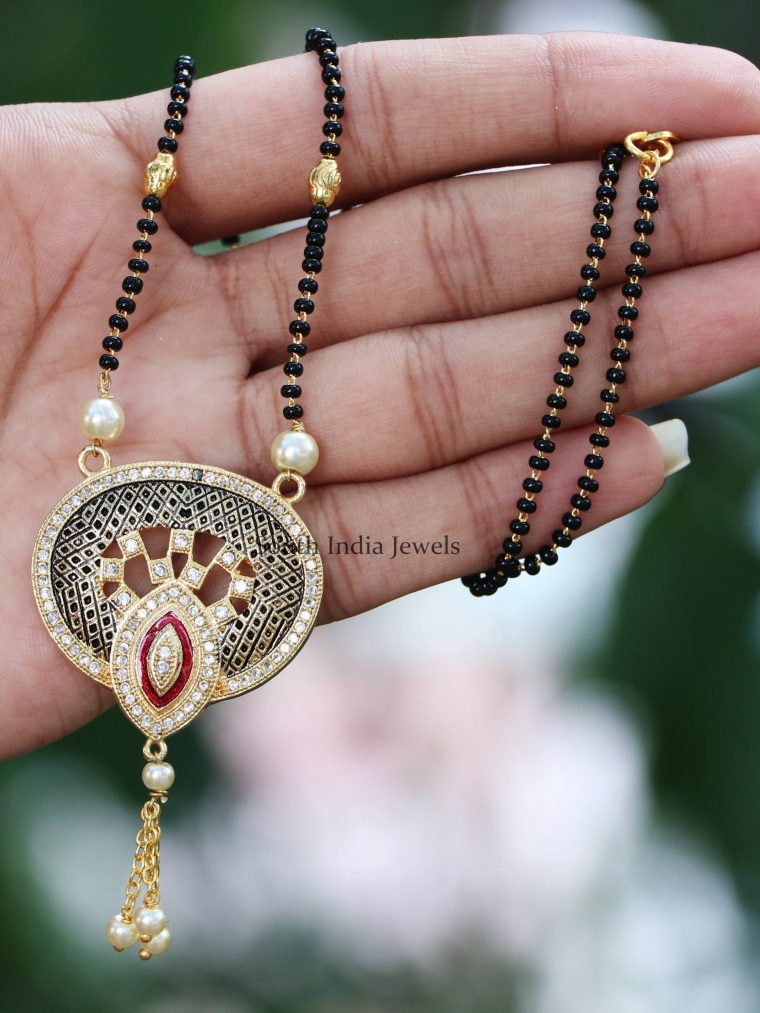 Antique Finish Designer Mangalsutra