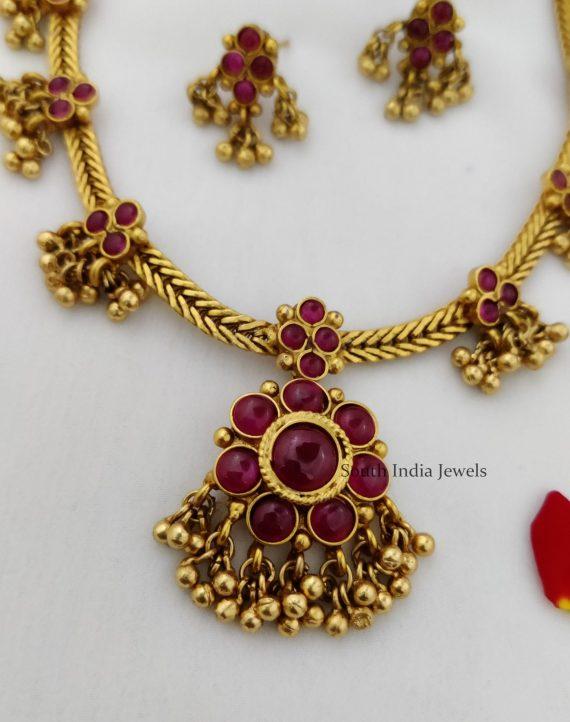 Antique Kemp Stone Necklace-02