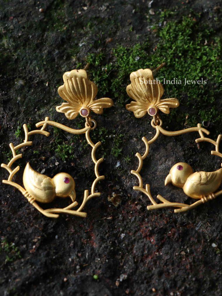 Beautiful Bird Earrings