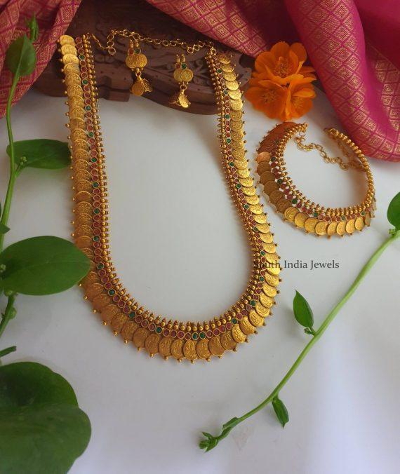 Beautiful Bridal Kasu Haram & Necklace (3)