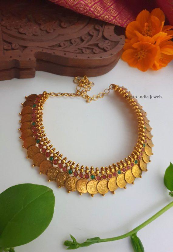 Beautiful Bridal Kasu Haram & Necklace