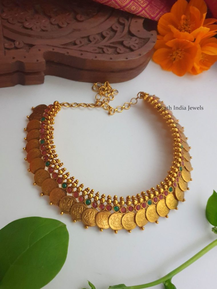 Beautiful Bridal Kasu Haram & Necklace