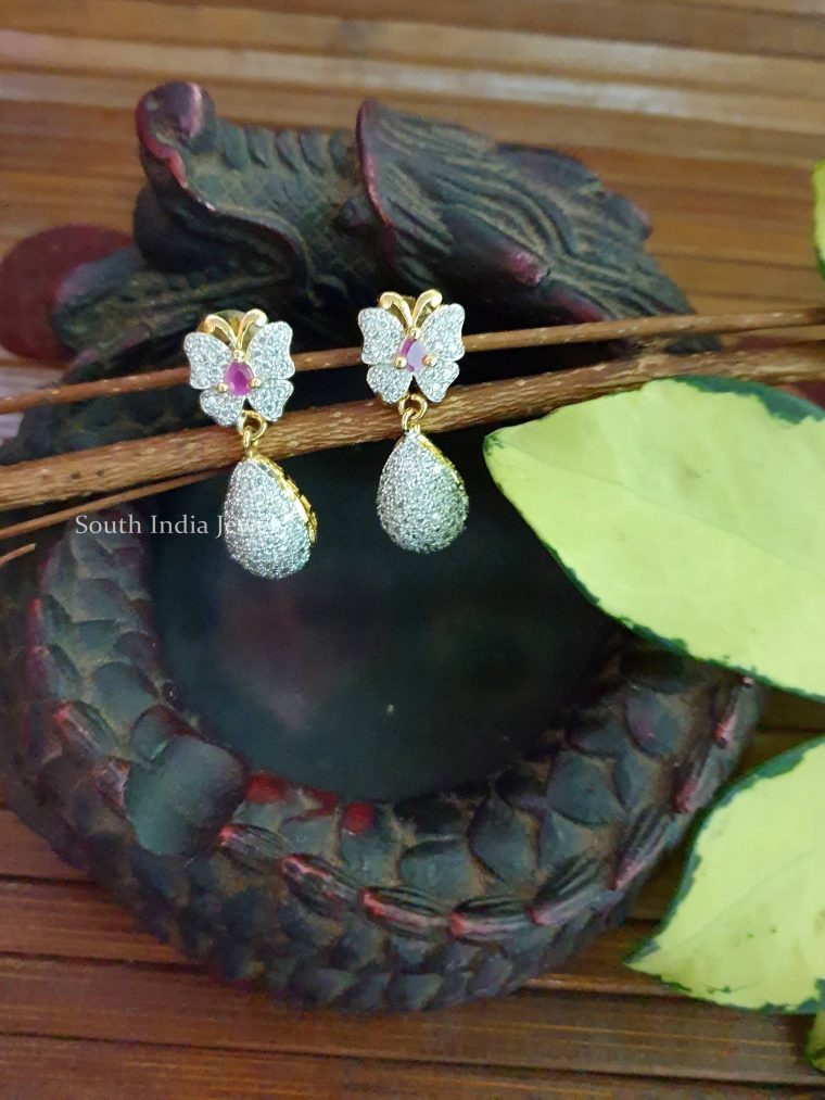 Beautiful GJ Stone Earrings