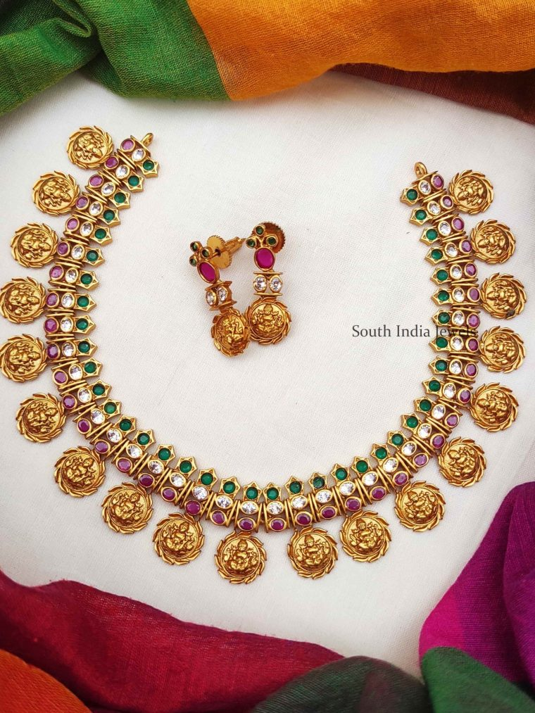 Beautiful Lakshmi Chakra Necklace