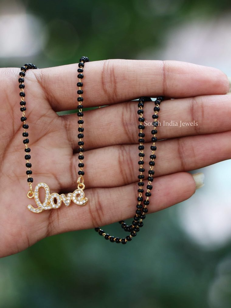 Beautiful Love Pendant Mangalsutra