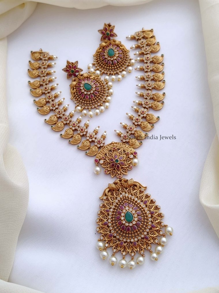 Beautiful Mango Design Necklace