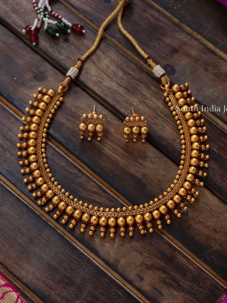 Beautiful Matte Finish Necklace