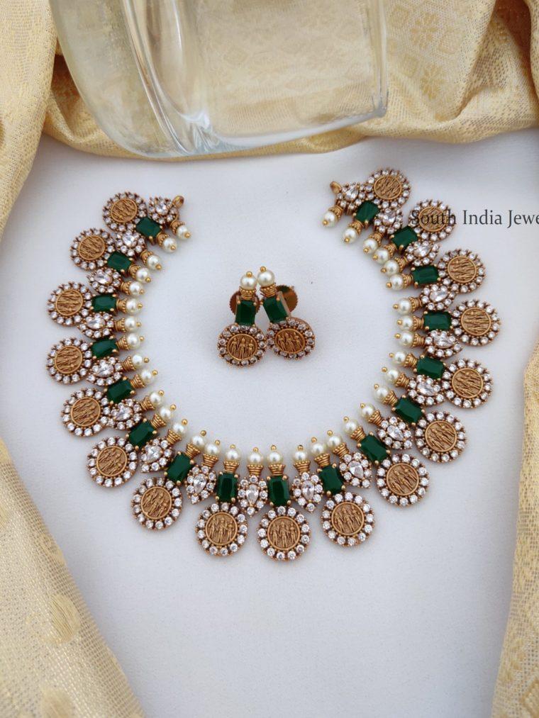 Beautiful Ram Parivar Necklace