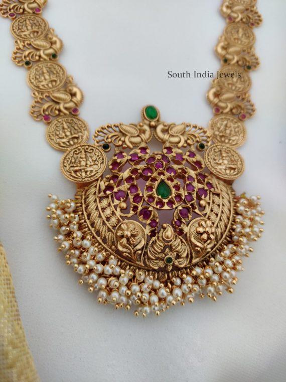Bridal Real Kemp Lakshmi Haram