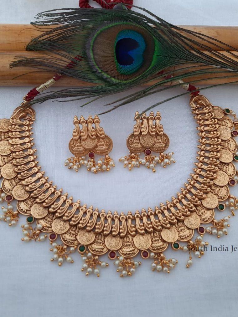 Classic Lakshmi Coin Necklace