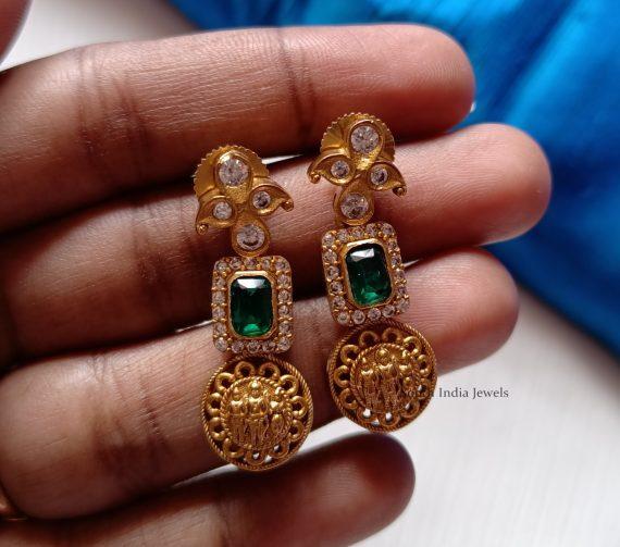 Classic Ramparivar Green Stone Haram (2)