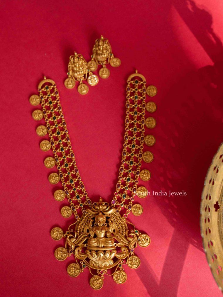 Elegant Lakshmi Coin Haram (3)