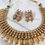 Elegant Lakshmi Coin Necklace (2)