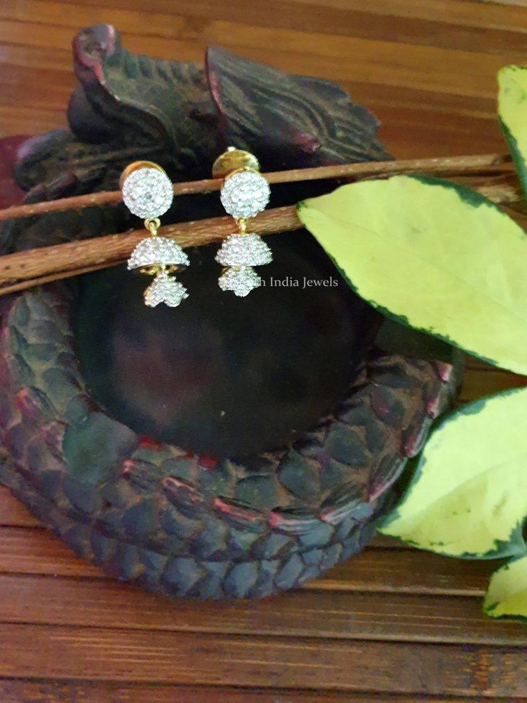 Fancy Double Jhumka Earrings