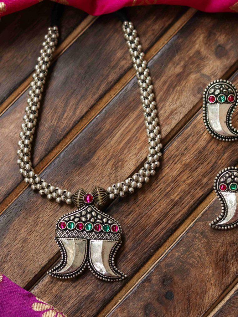 Gorgeous Kholapuri Necklace