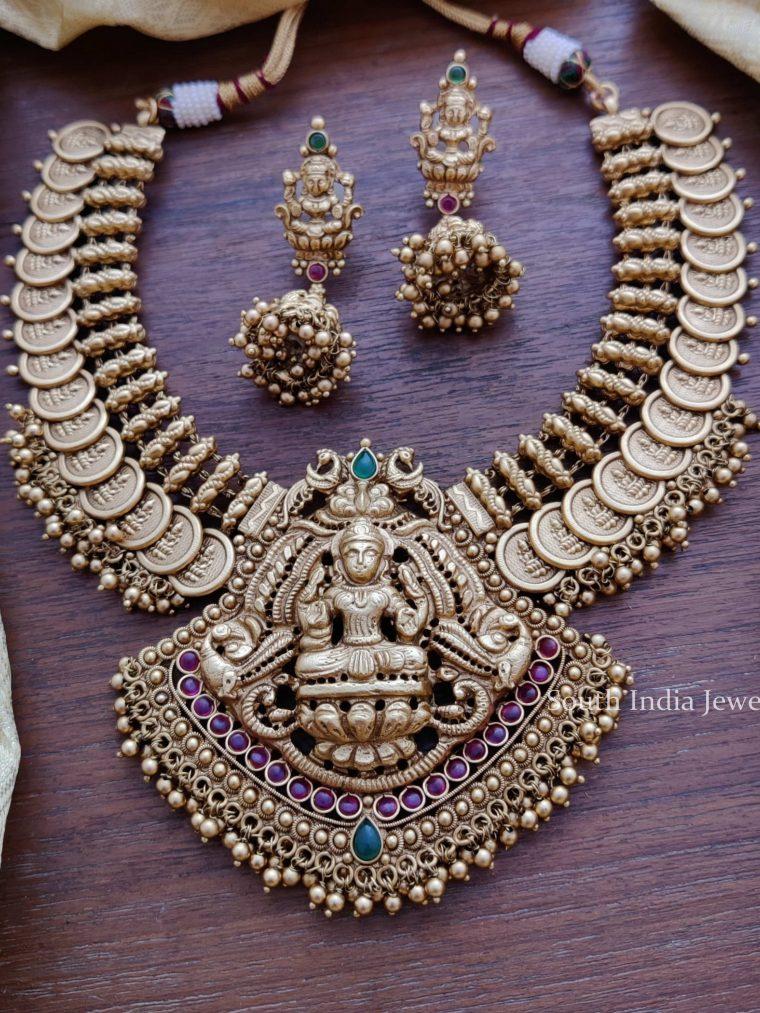 Grand Antique Lakshmi Necklace