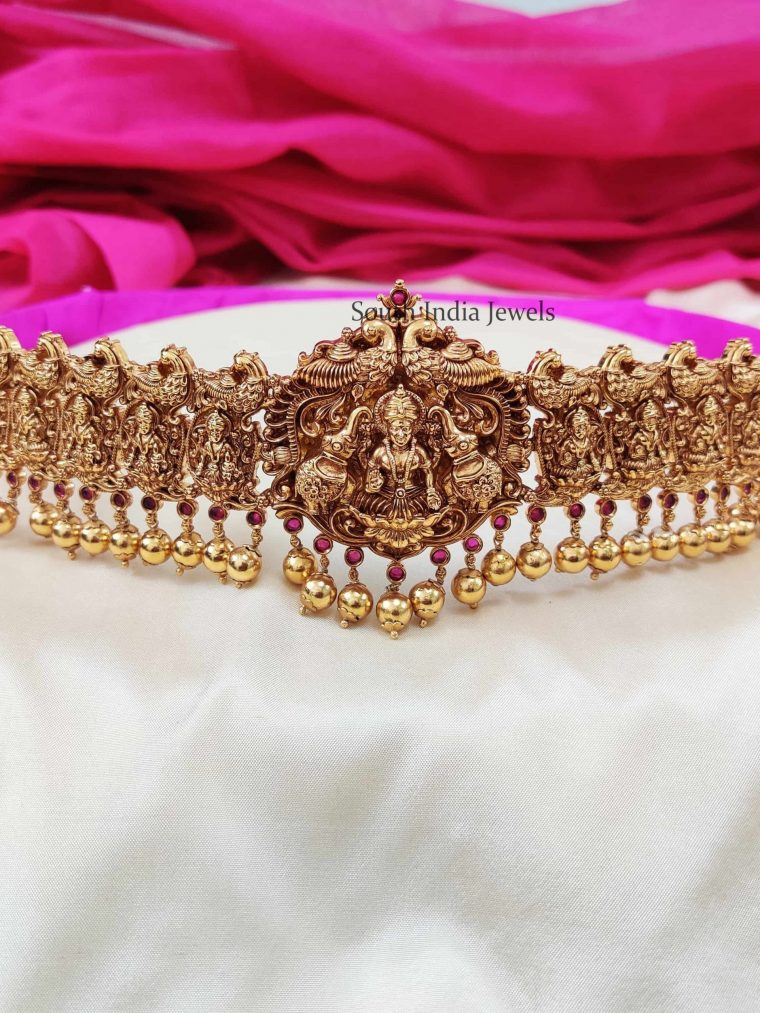 Traditional Lakshmi Bridal Hip Belt