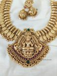 Traditional Lakshmi Coin Necklace (2)