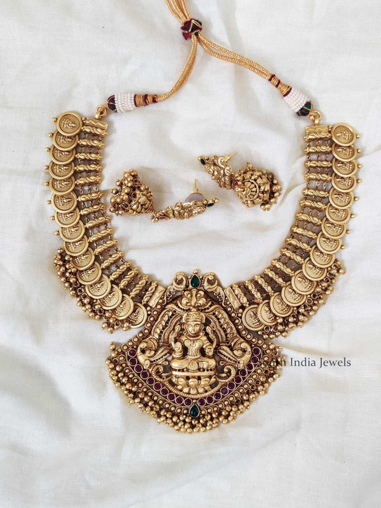 Traditional Lakshmi Coin Necklace