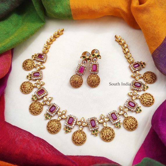 Traditional Ram Parivar Necklace