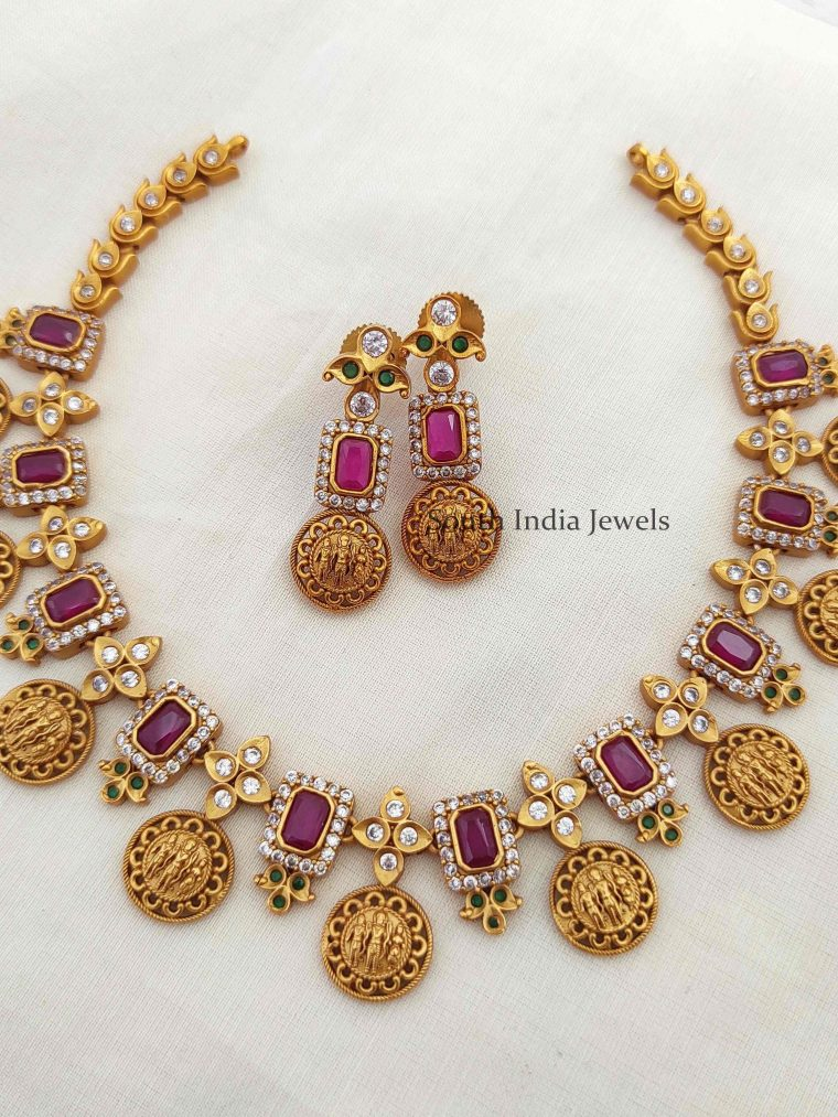 Traditional Ram Parivar Necklace