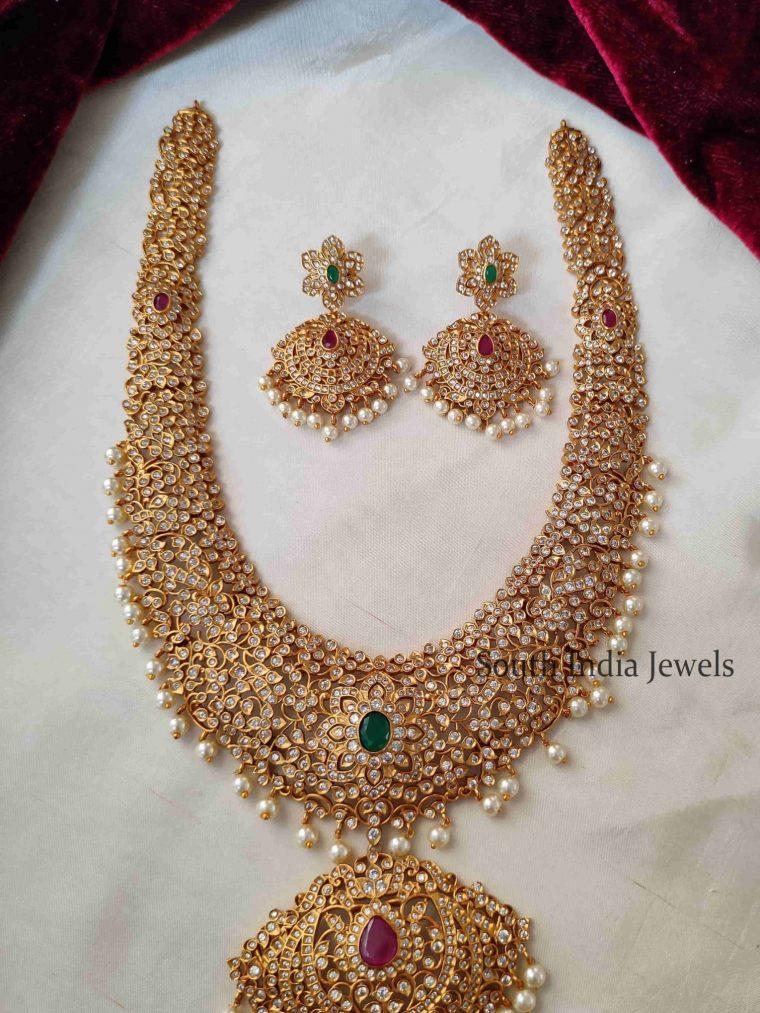 Trendy AD Stone Long Bridal Haram