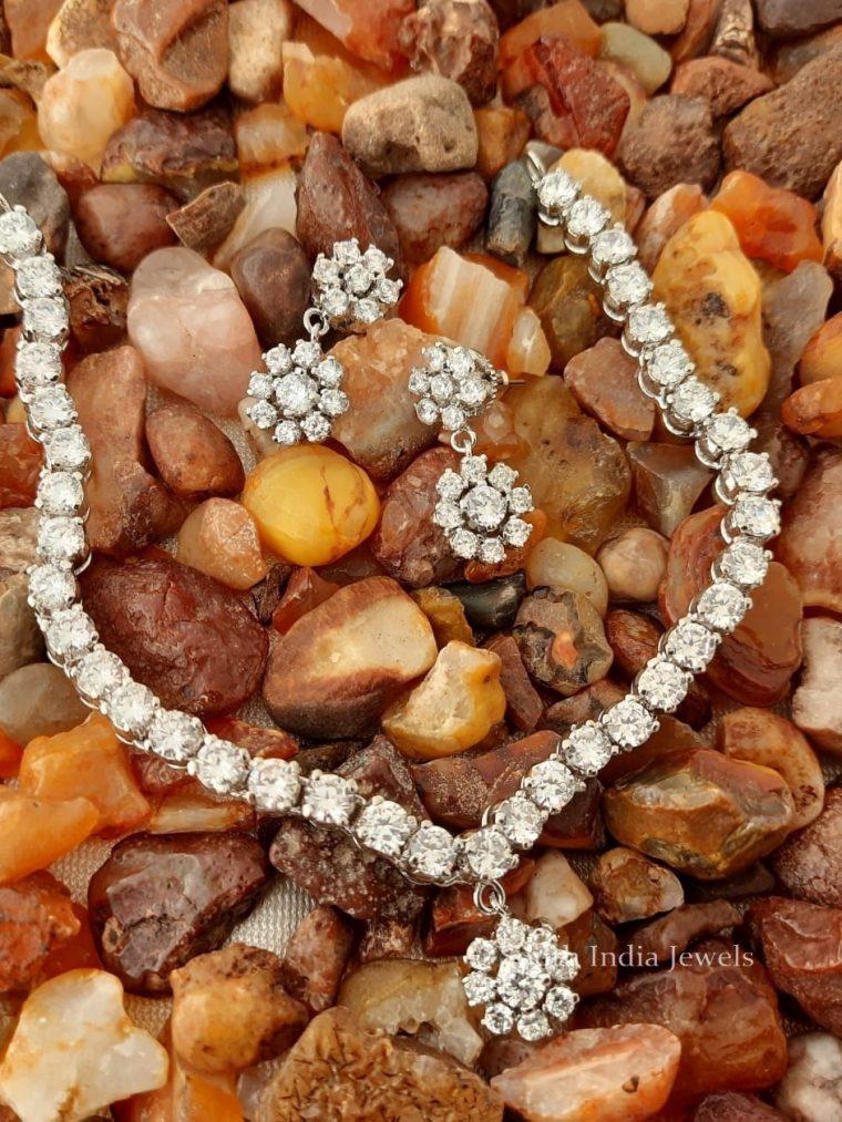 Trendy CS Stone Necklace