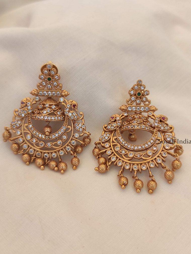 Trendy Chandbali Design Earrings