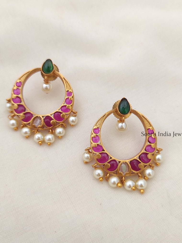 Trendy Kemp Chandbali Earrings
