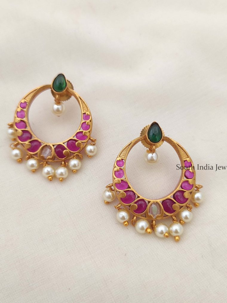 Trendy Kemp Chandbali Earrings