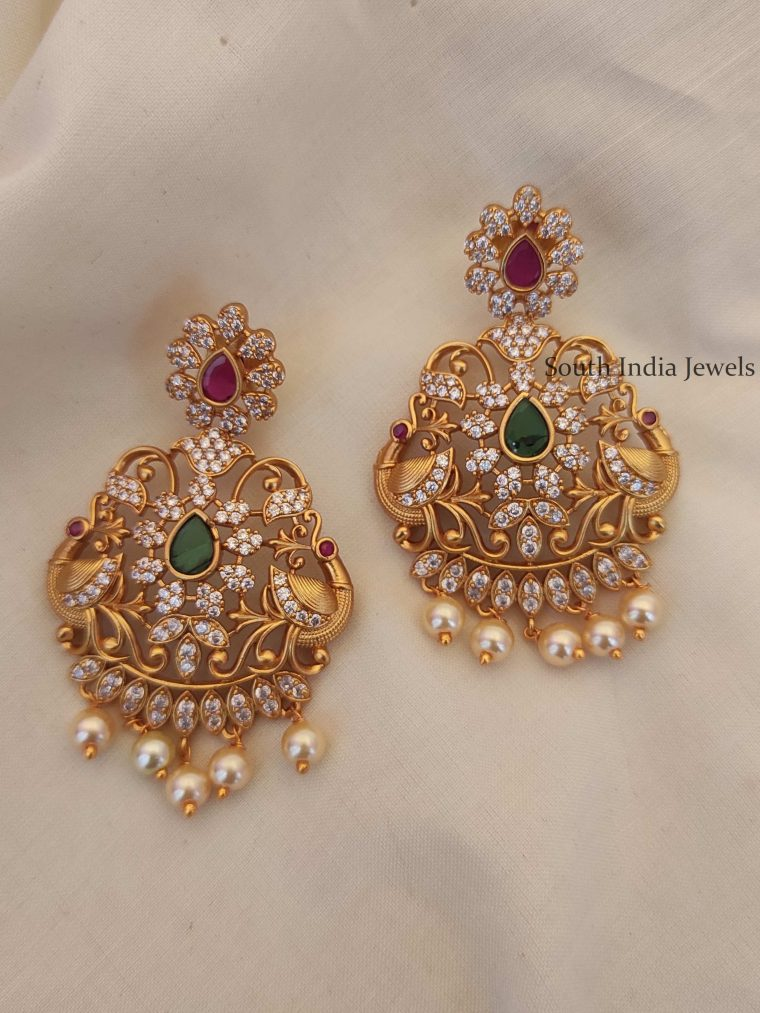 Unique Chandbali Design Earrings