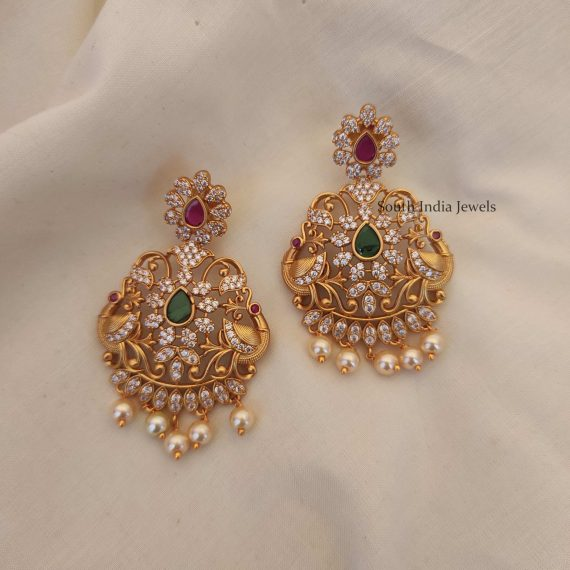 Unique Chandbali Design Earrings