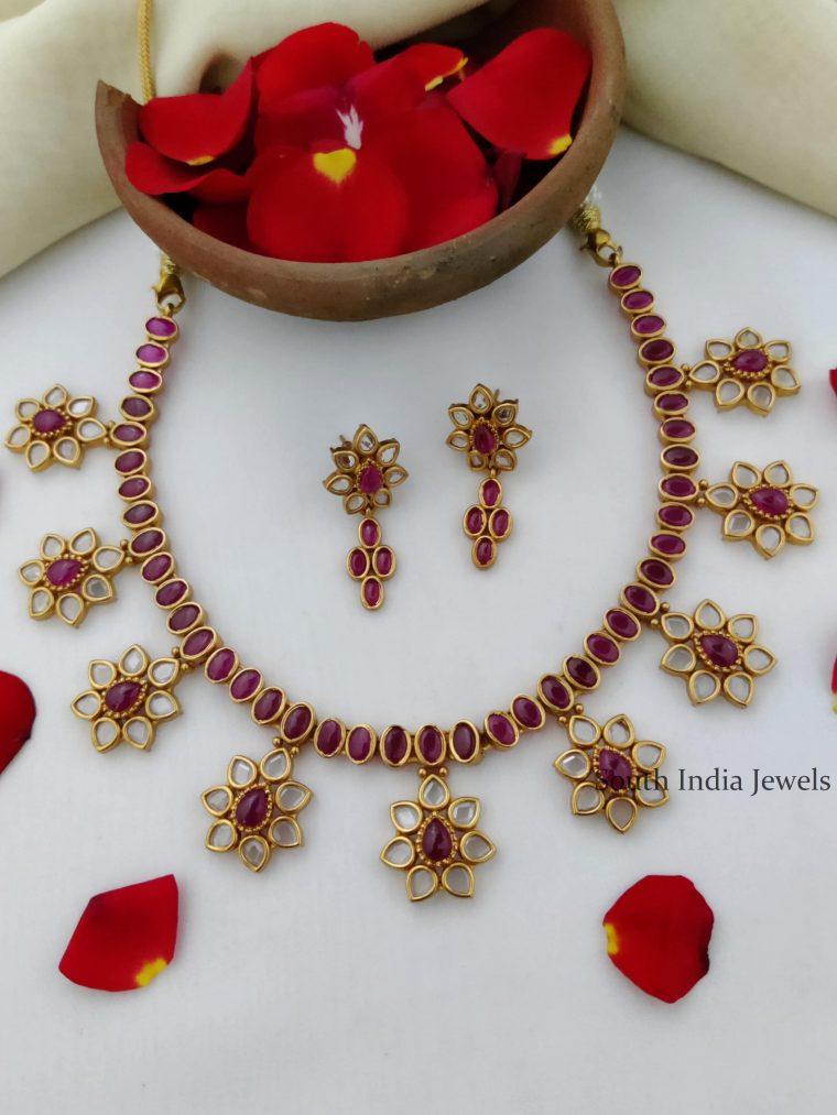 Unique Real Kemp Star Necklace