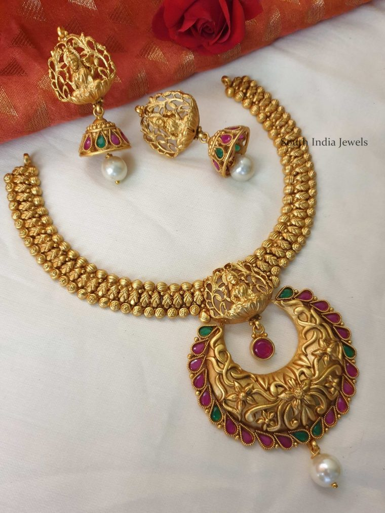 Amazing Lakshmi Necklace