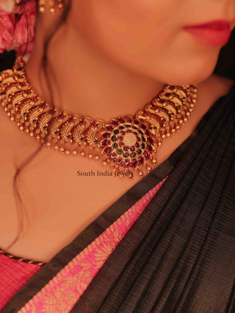 Antique Bridal Necklace (2)
