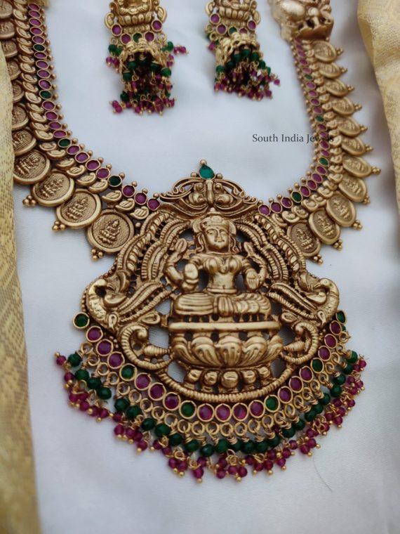 Antique Lakshmi Bridal Haram (2)