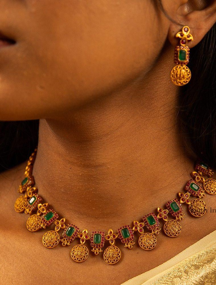 Antique Ram Parivar Necklace