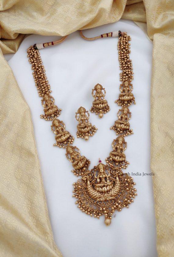 Beautiful Antique Lakshmi Haram
