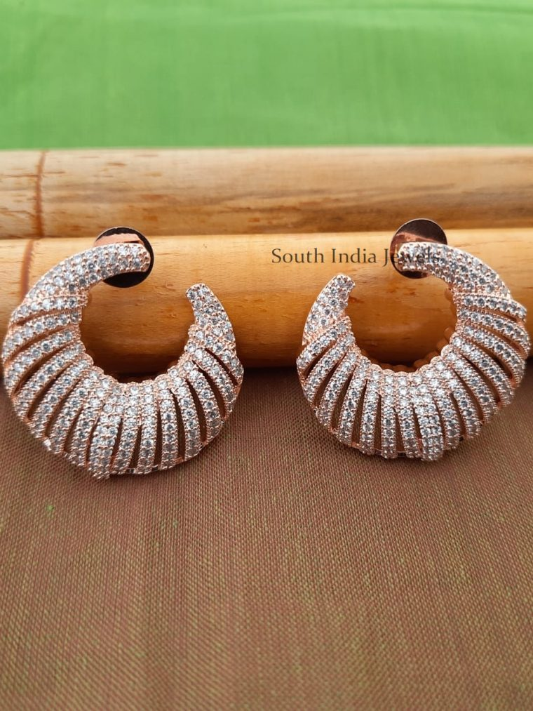 Beautiful CZ Stone Earrings