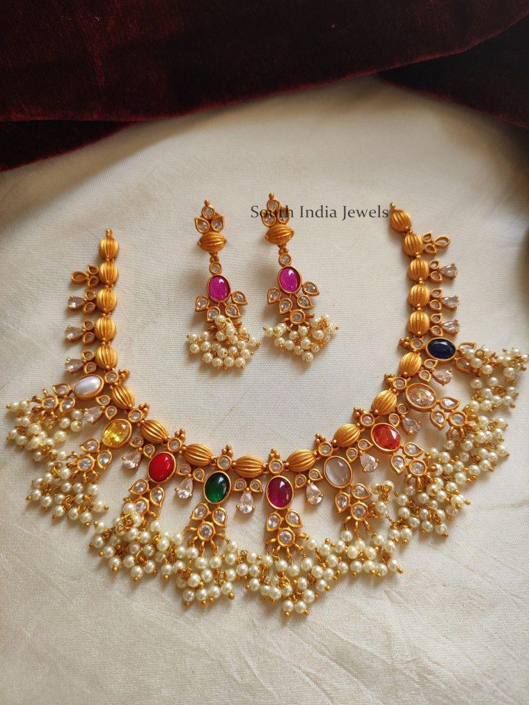 Beautiful Guttapusallu Necklace (3)